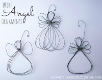 wire angel ornaments