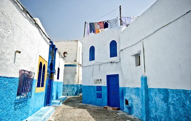 Oudaias Kasbah . dari Rabat