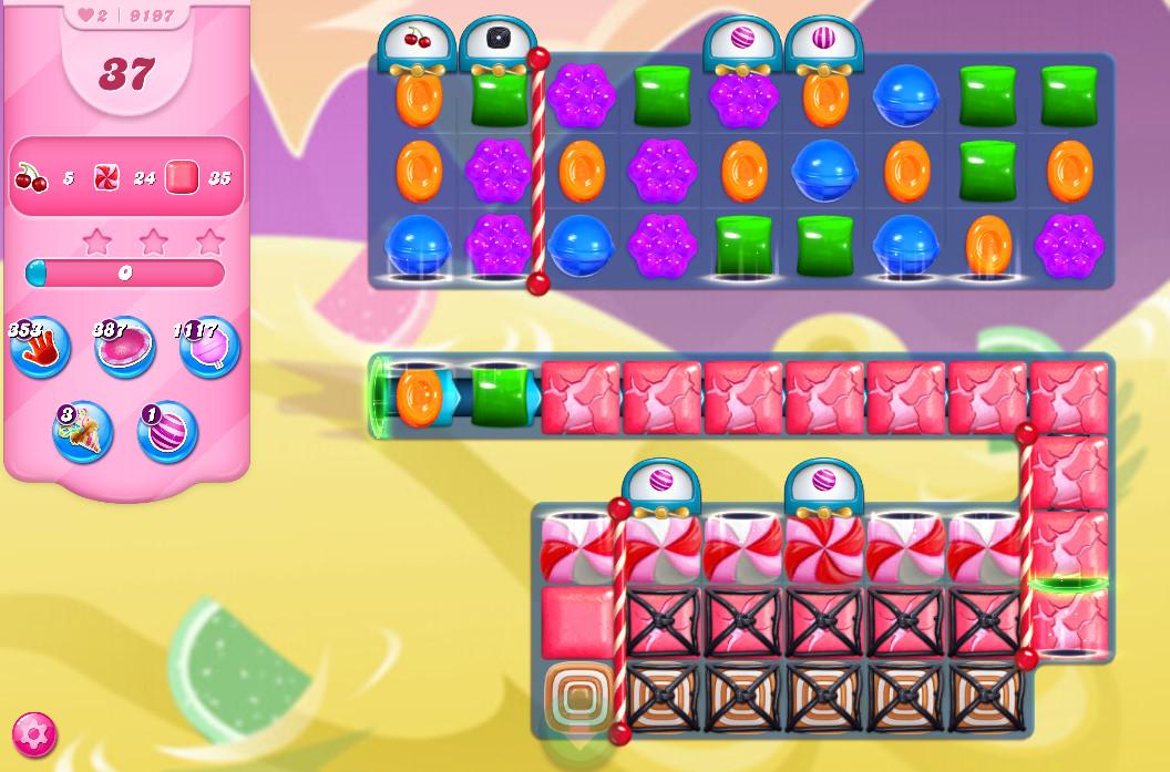 Candy Crush Saga level 9197