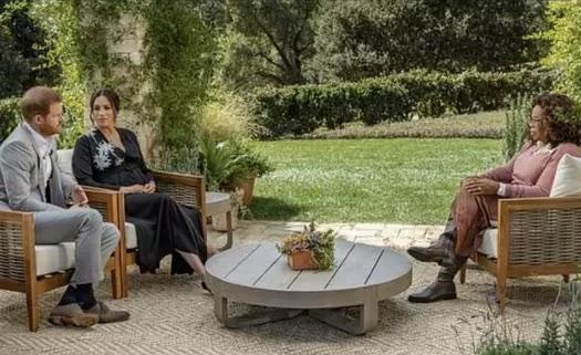 مقابلة اوبرا وينفري مع ميغان وهاري