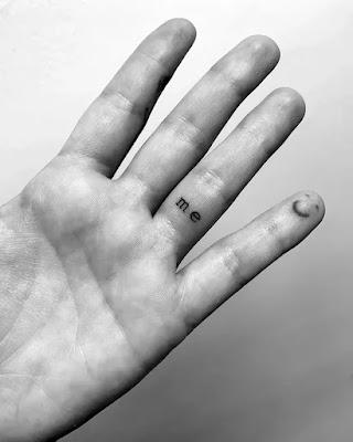 Demi Lovato's 'I' tattoo