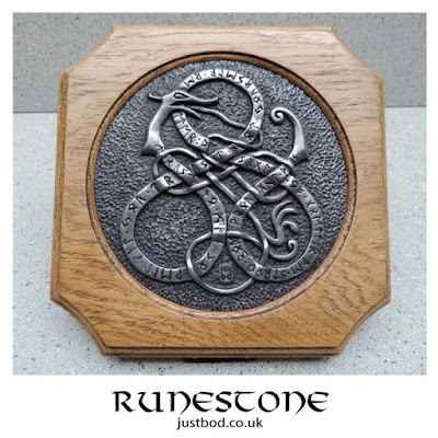 Viking Art Runestone Wall Plaque