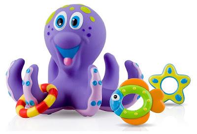 Octopus Hoopla Bath Toy