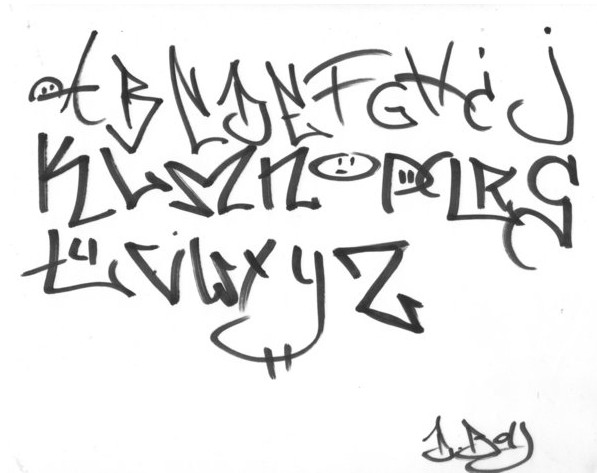 Number Names Worksheets how do you draw a cursive z : The Graffiti Design