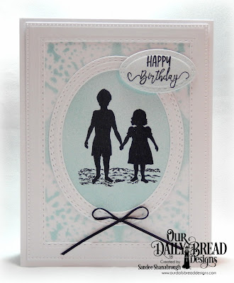 Our Daily Bread Designs Stamp Set: Brother in Christ, Custom Dies: Lacey Corners, Pierced Rectangles, Double Stitched Rectangles, Oval Stitched Rows, Stitched Ovals