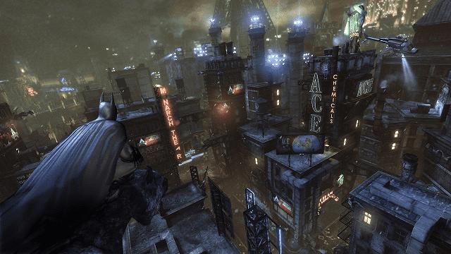 rasakan sensasi menjadi batman dan menyelamatkan arkham city