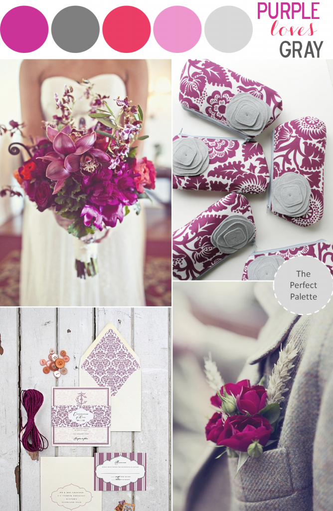 Color Story Purple Loves Gray The Perfect Palette