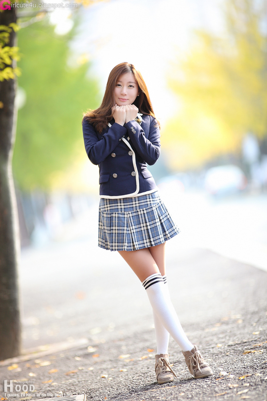 Han Ji Eun - School Girl  Cute Girl - Asian Girl - Korean -9234
