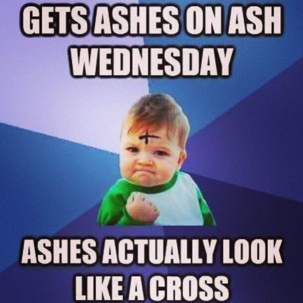 Ash Wednesday Meme 2
