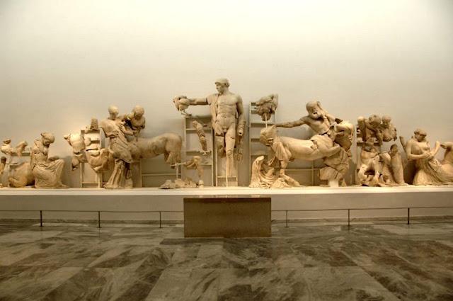Το Μουσείο της Αρχαίας Ολυμπίας