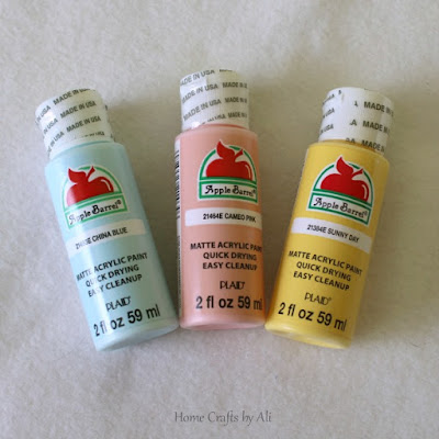 National Craft Month Craft Supply Giveaway spring paint