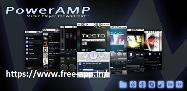 Poweramp Music Player build-841 Pro Apk