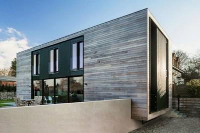 rumah futuristik minimalis modern