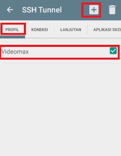 Menggunakan Data Videomax Dengan Aplikasi KPN Tunnel Ultimate