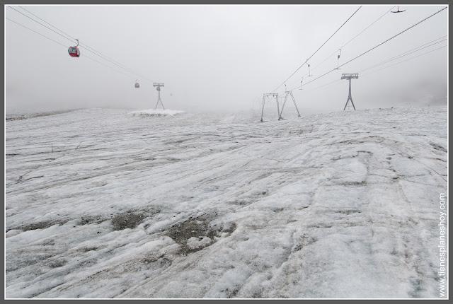 Glaciar de Stubai (Austria)