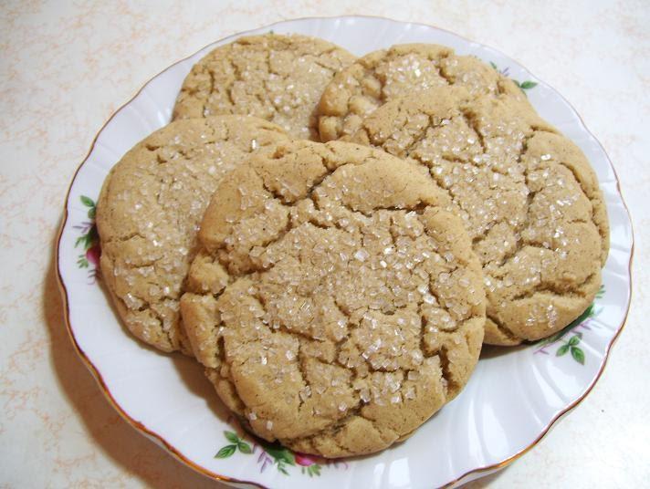 A Joyful Chaos: Molasses Crinkle Cookies