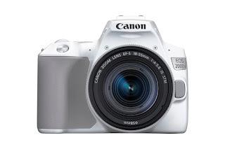 Canon EOS 200D II warna putih