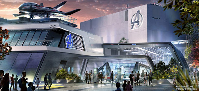 D23 Expo 2019 Marvel attractions, Disneyland Avengers Campus, Avengers E-ticket