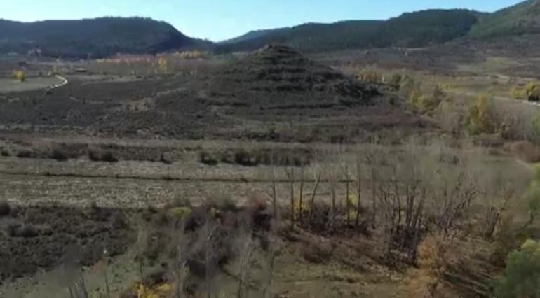 Una posible pirámide en España