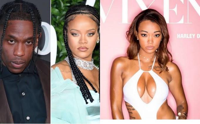 Pornstar, Harley Dean accuses Rihanna & Travis Scott of spreading STDs