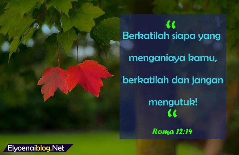 ayat alkitab untuk orang yang menyakiti kita