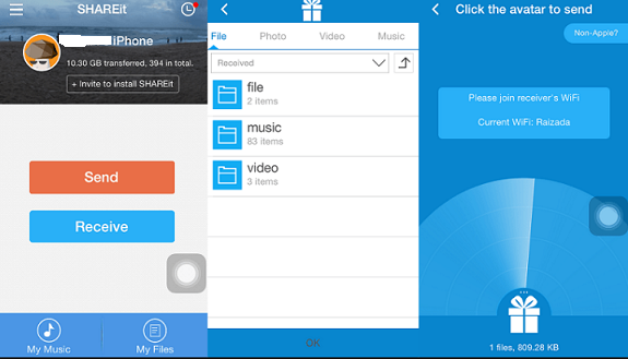 Download SHAREit For iPhone Lates Version
