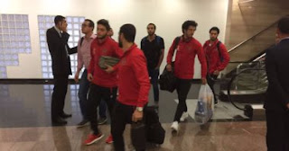Egyptian Ahli club Squad against Al-Tarji Club quarter-finals of the African Champions League