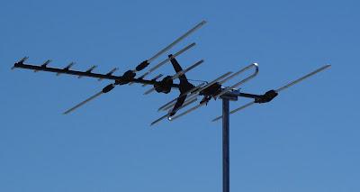 uhf-vhf basit anten