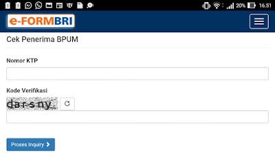 Cek Penerima BPUM Via e form bri co id bpum, Banpres Akan Diperpanjang Sampai Tahun 2021