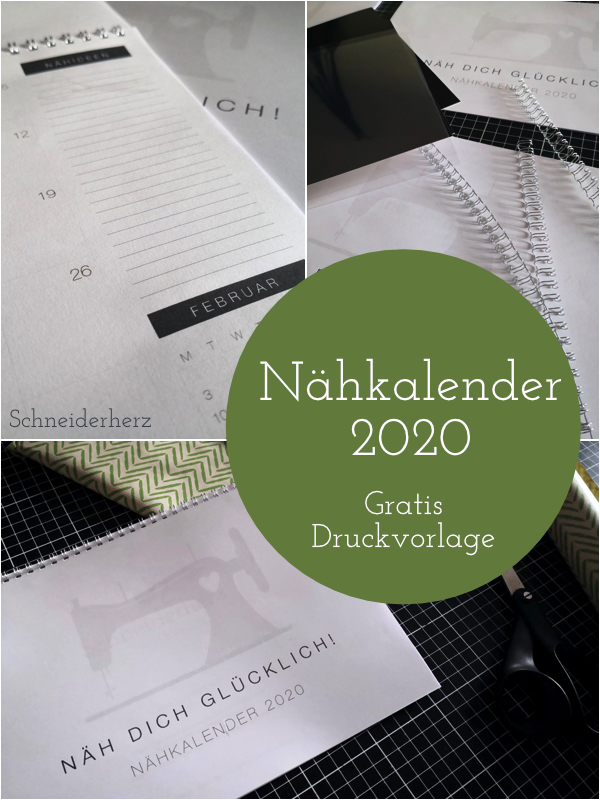 Pin Freebie Nähkalender