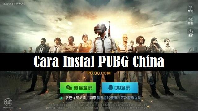 Cara Instal PUBG China