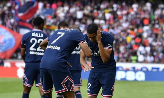 ملخص واهداف مباراة باريس سان جيرمان وكليرمون (4-0) الدوري الفرنسي