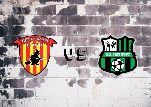 Benevento vs Sassuolo  Resumen
