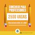 Camilo Santana anuncia concurso para professor com 2500 vagas