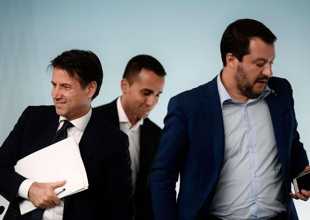 رسميا ..أكبر أزمة سياسية..سالفيني يسرع الخطى لحكم إيطاليا منفردا..وتقديم ملتمس لسحب الثقة من الحكومة