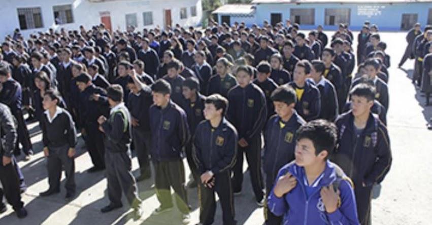 Clases escolares en Piura y Áncash se iniciarán el lunes 3 de abril