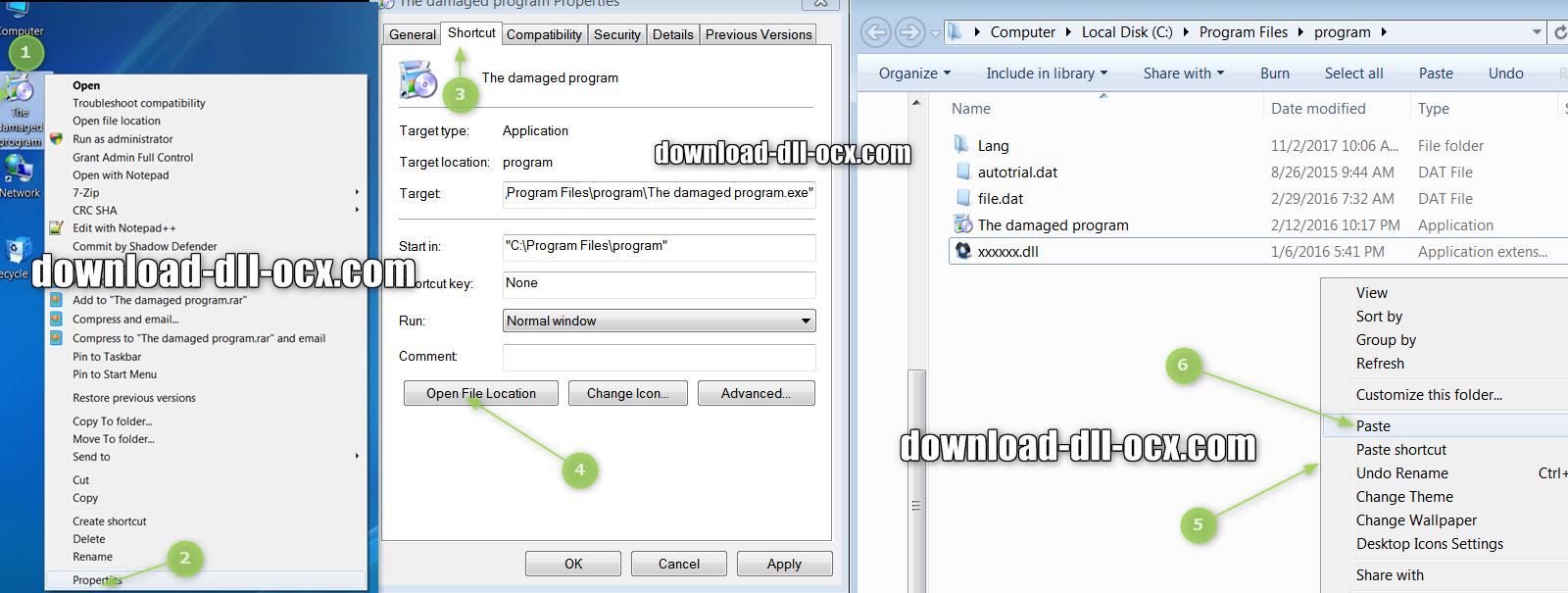 how to install jgedgen.dll file? for fix missing