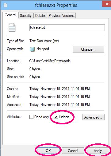 Cách ẩn file và hiện file ẩn trên máy tính Windows