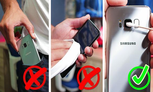 5 عادات بسيطة خاطئة تقوم بها تدمر هاتفك الذكي