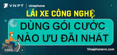 Các gói cước 4G/5G cho tài xế Grab, Xe ôm, Shipper Công nghệ Siêu rẻ! vinaphonevn.com