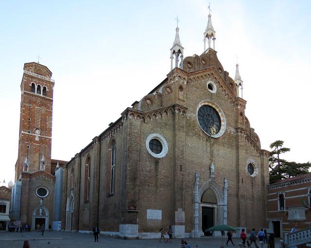 Santa Maria Gloriosa dei Frari, Campo dei Frari, San Polo, Venice