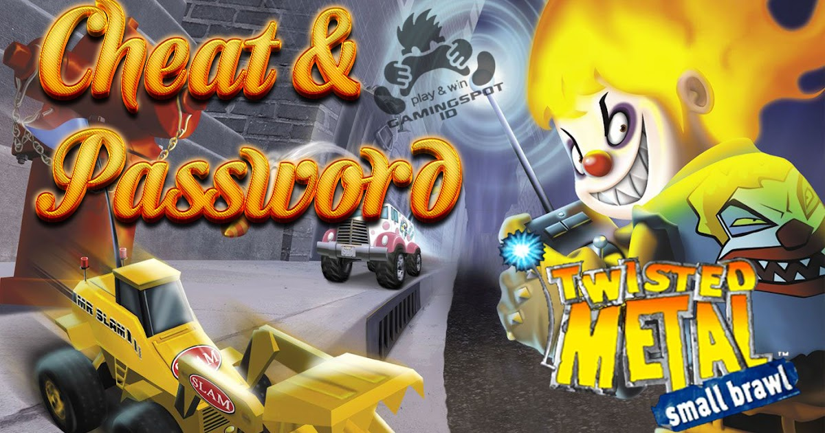 cheat code  password twisted metal  small brawl ps1