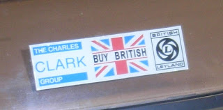 the Charles Clark Group window sticker