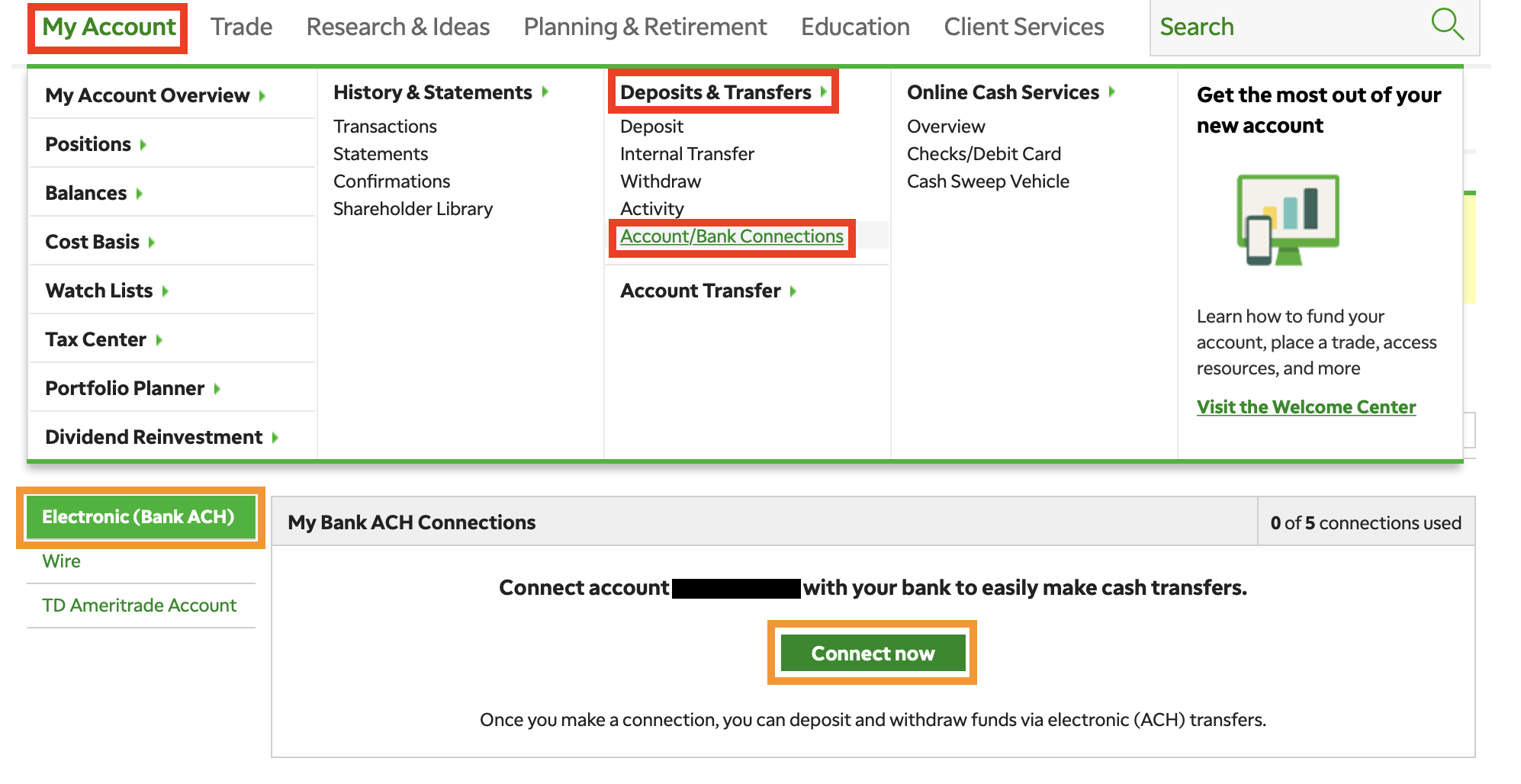 what is the routing number for my td bank checking account