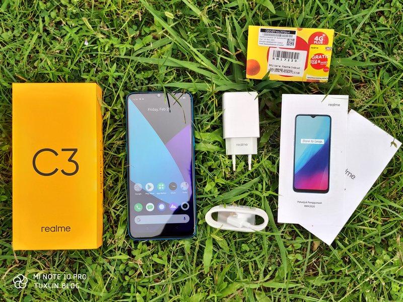 Paket Pembelian Realme C3