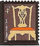 Selo Cadeira Chippendale