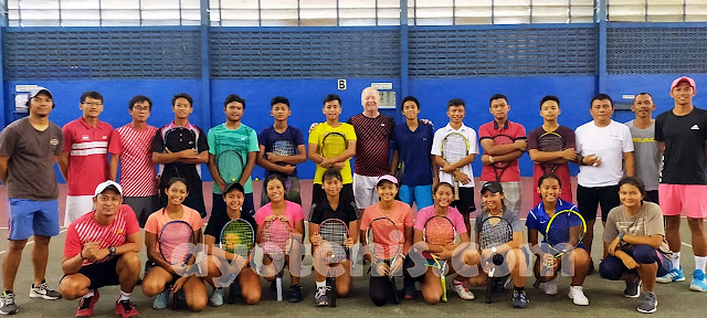 Dio Tuai Banyak Pelajaran Berharga Dari National Junior Tennis Camp - Indonesia 2020