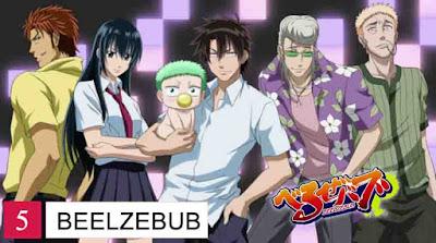 Anime action comedy terbaik 5