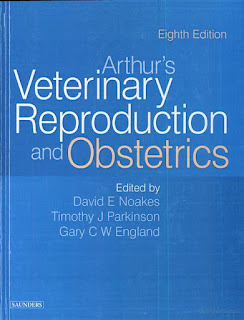 Arthur's Veterinary Reproduction and Obstetrics 8th Edition