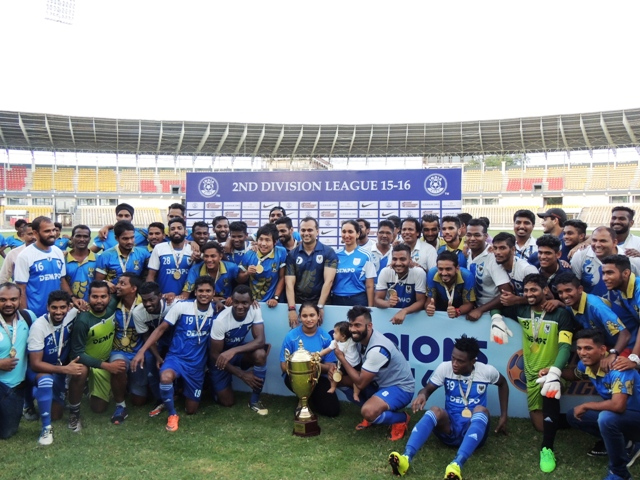 Dempo SC beat Minerva to earn I-League promotion